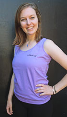 Lilac Tank Top - front