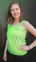 Lime Green Tank Top - front