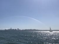 Brian-Boyds-Farallon-clipper-Hana-sailing-to-the-city-taken-by-Jesse-Hollander-aboard-Psycho-Tiller