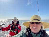 Harry-Mathias-Anne-Morkill-and-Daisy-from-aboard-the-Egret-our-Beneteau-Oceanus-361-3