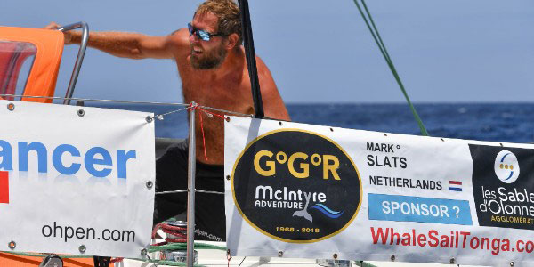 Mark Slats aboard
