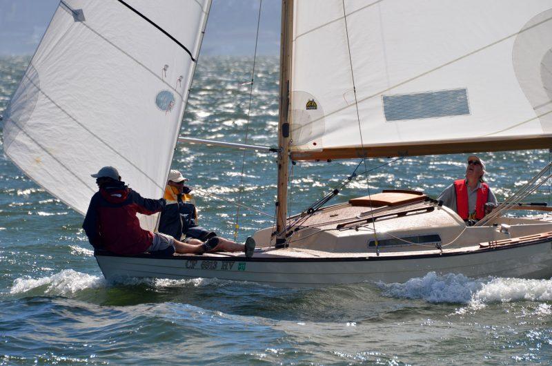 Folkboat crew