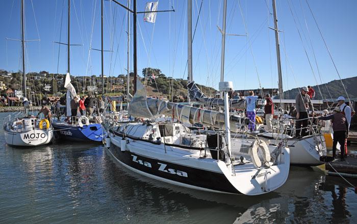 CYC Midwinters raft-up