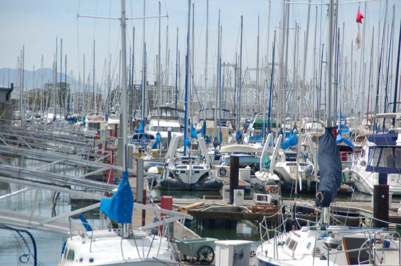 Oakland estuary marinas