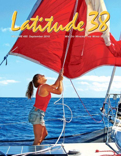 Tahiti racing aboard Defiance