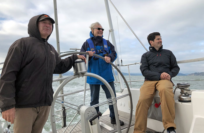 Three aboard an SC53
