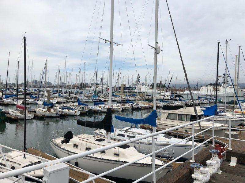 Alameda Marina waterfront docks