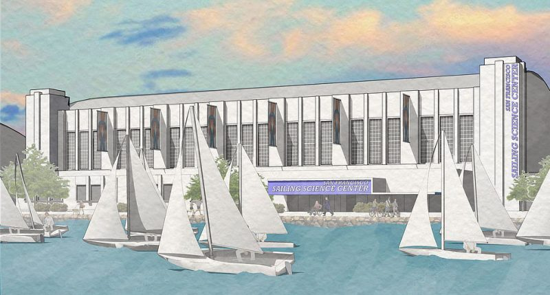 Sailing Science Center rendering