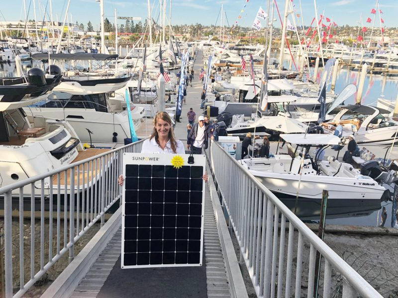 Sunpower solar panael