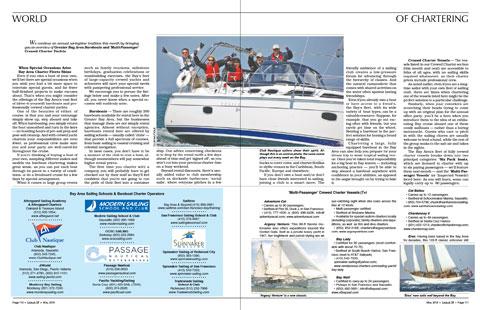 San Francisco Bay Sailboat Charters