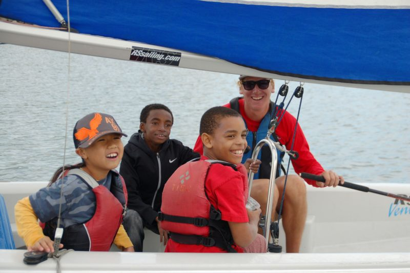 Treasure Island Sailing Center kids