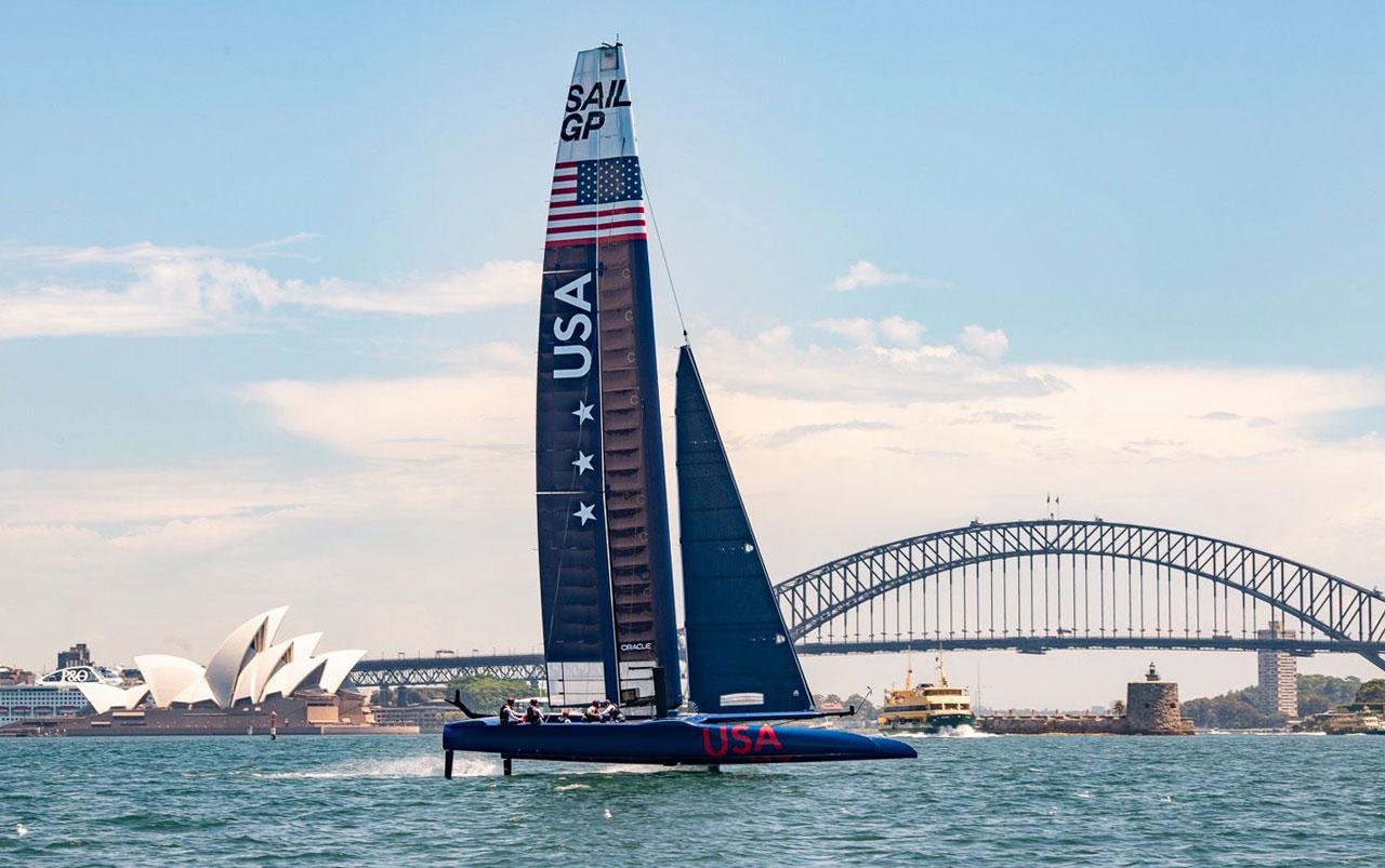 F50 in Sydney Harbour