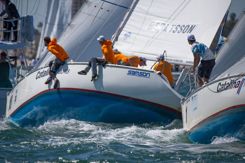 Catalina 37s racing in Congo Cup