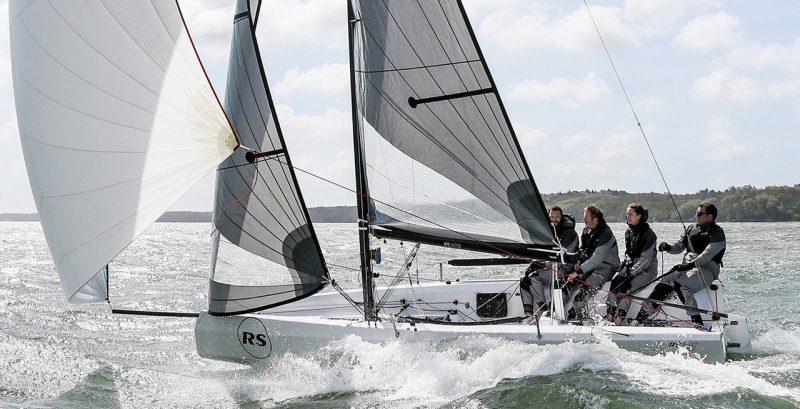 RS21 sailing
