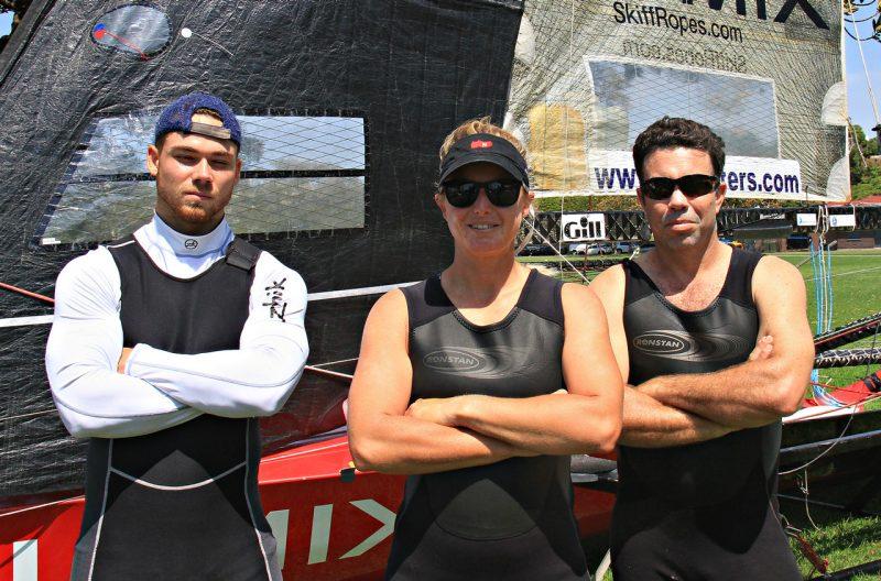 Crew trio