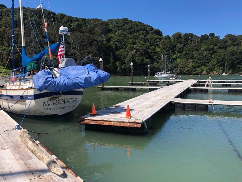 Angel Island outer docks