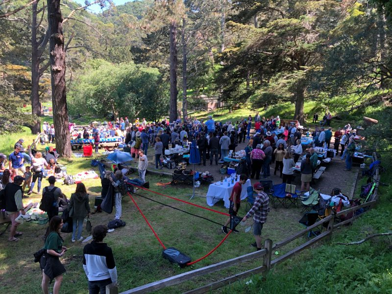 The Angel Island Picnic zone