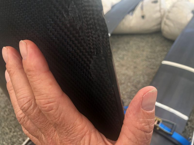 SailGP Trailing Edge