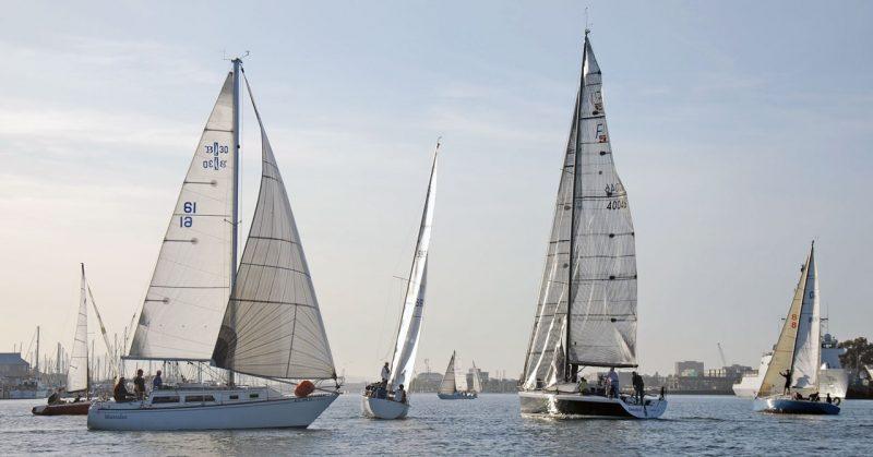 IYC race start