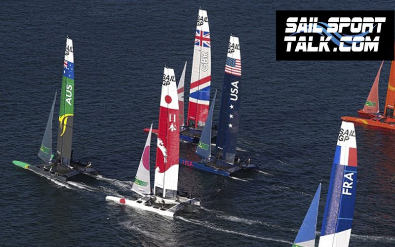Sail GP fleet
