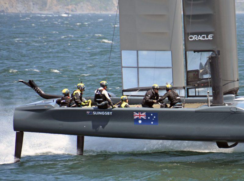 Australia SailGP crew