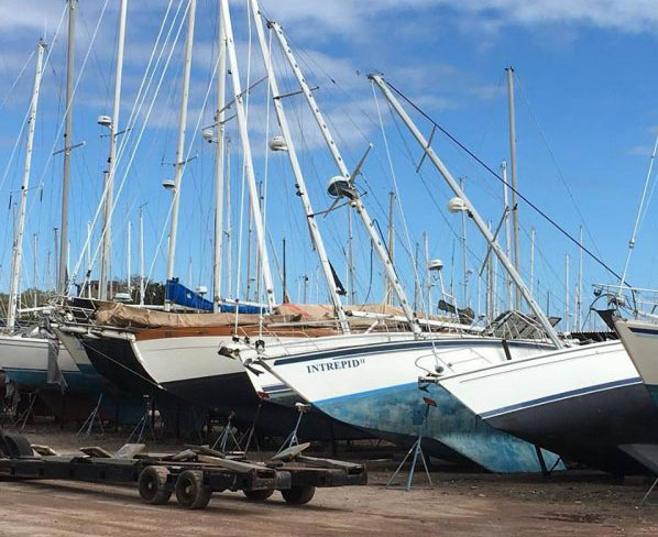 Dry storage boats