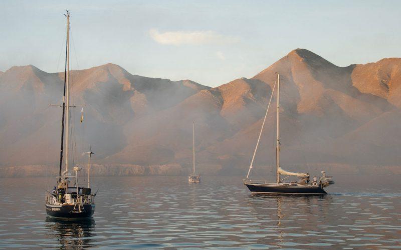 BSM anchorage in the mist