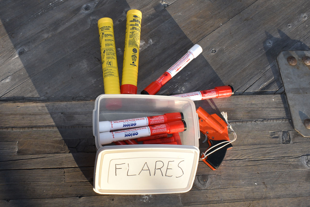 Box of flares
