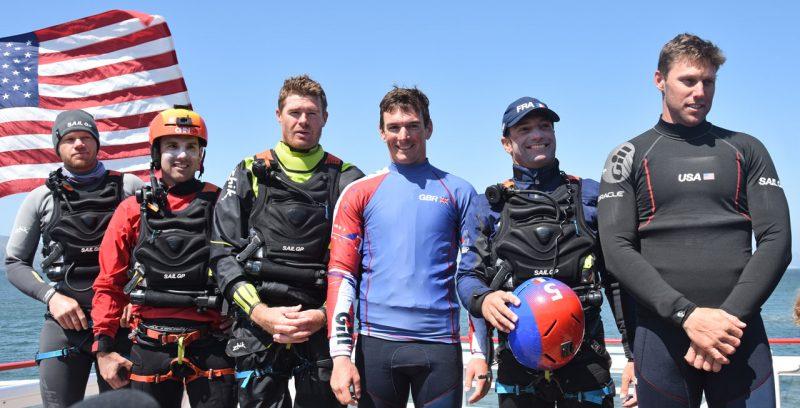 The SailGP skippers