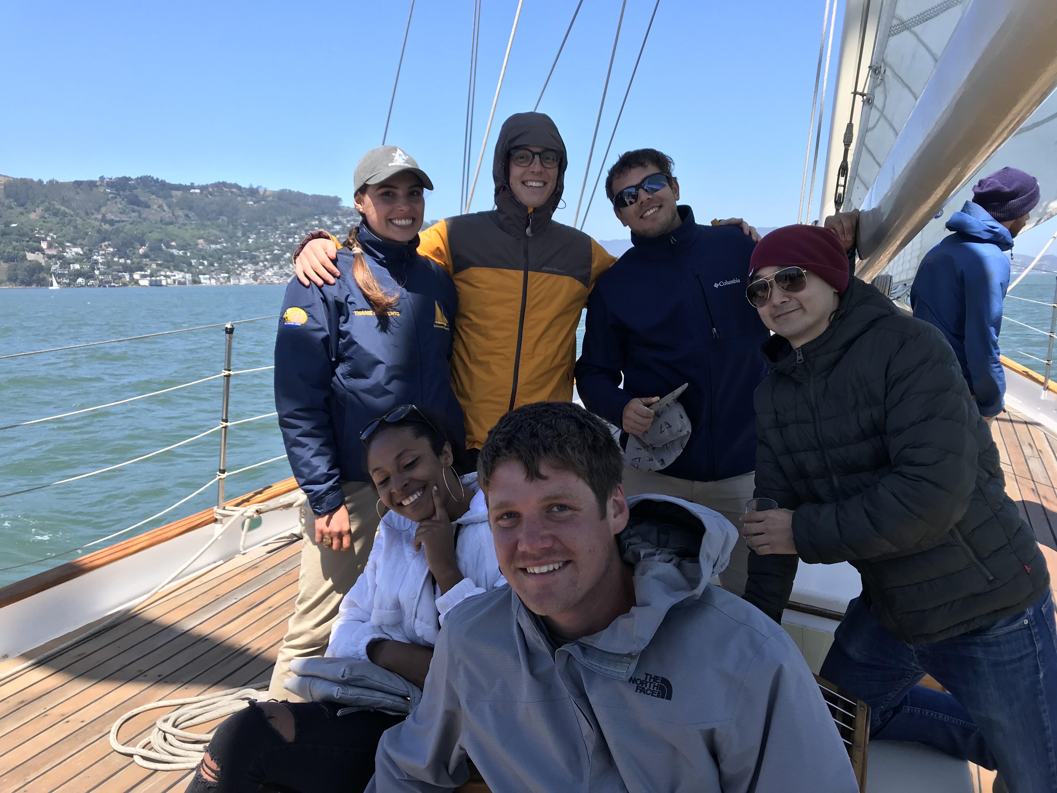 Sailing aboard Seaward