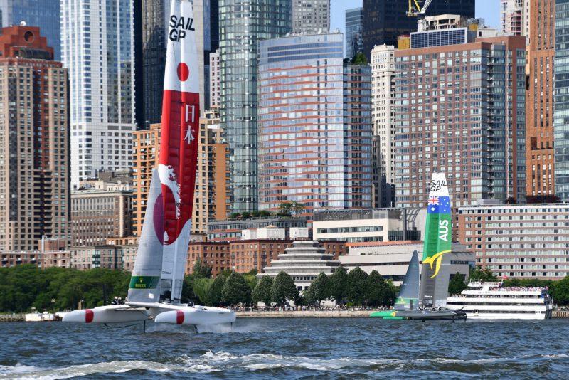SailGP Team Japan- Team Australia