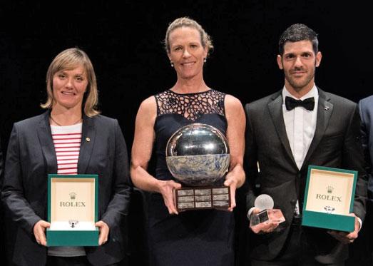 World Sailing award winners