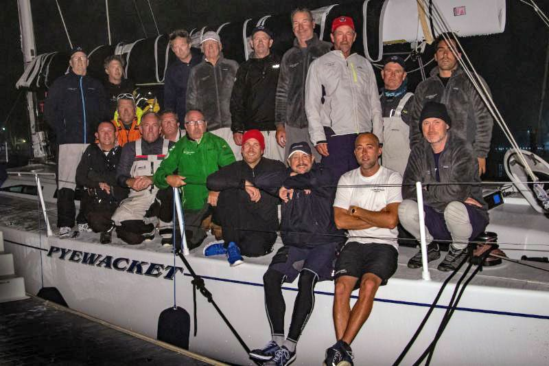 Two crews aboard Pyewacket