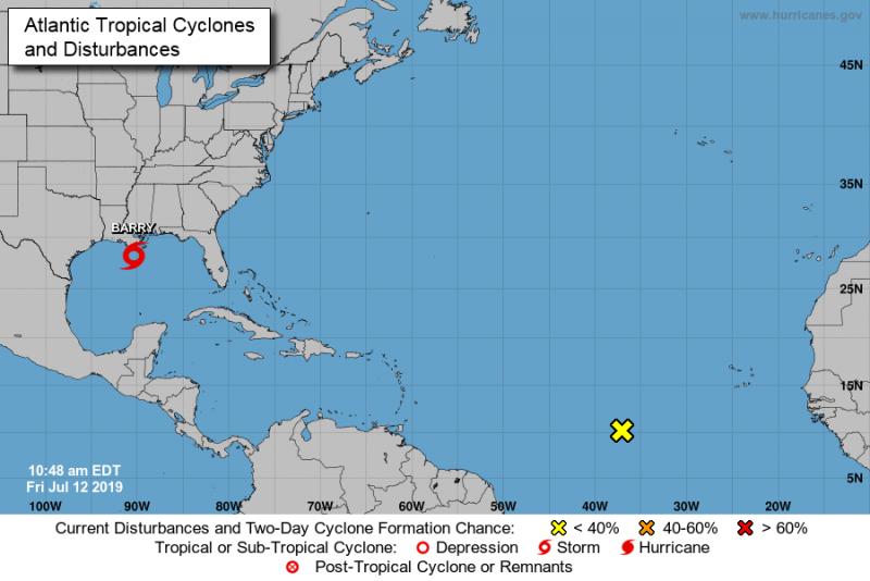 NOAA Disturbance 1