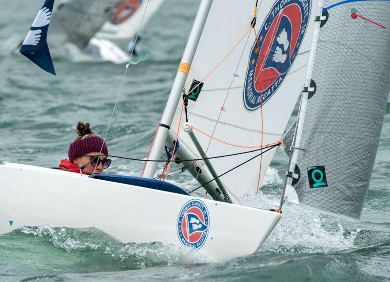 Delani sailing in the Clagett