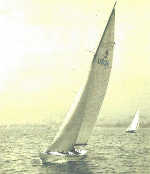 Lucie in Santa Barbara in 1932