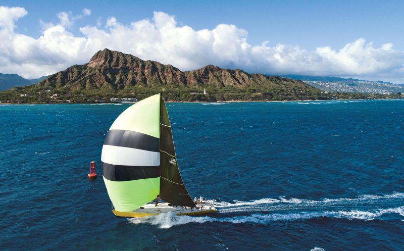Taxi Dancer Finishes the Transpac