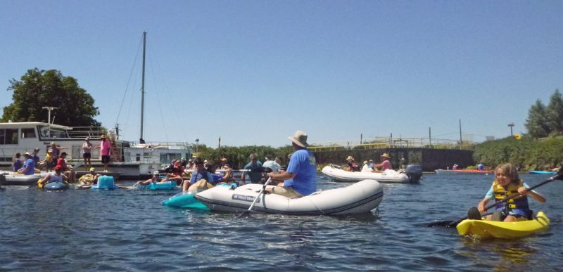 Dinghy poker run
