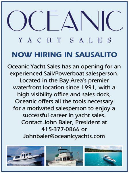 Oceanic Yacht Sales Job
