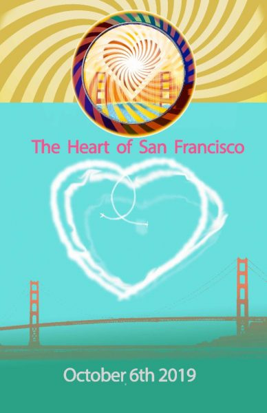 Heart of San Francisco Peace and Love