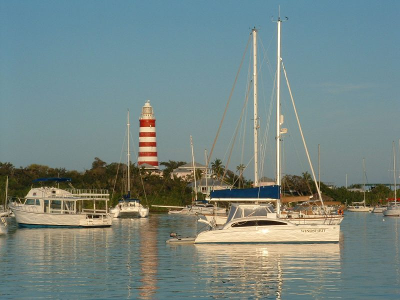 Hopetown, Elbow Cay Lighthouse
