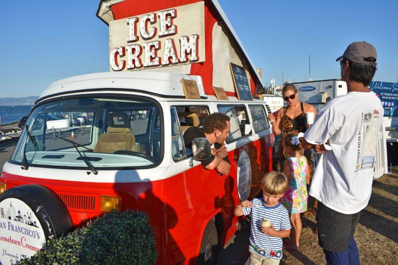 Ice cream VW van