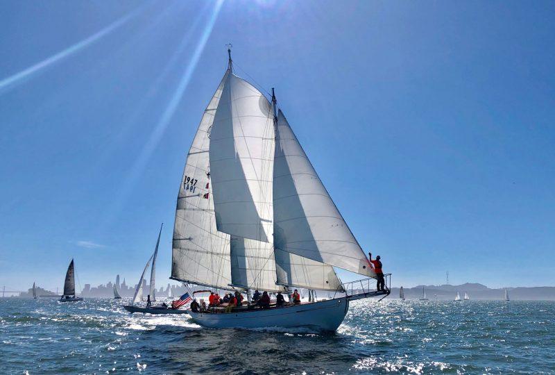 The schooner Mayan