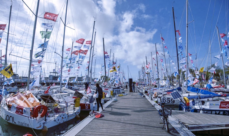Minis Docked at La Rochelle