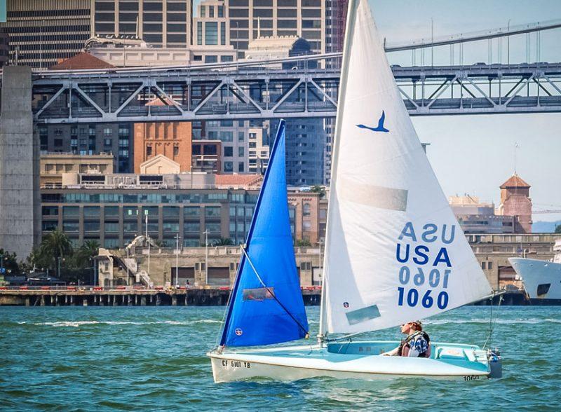 Chris Childers sailing
