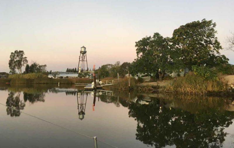 Napa River view