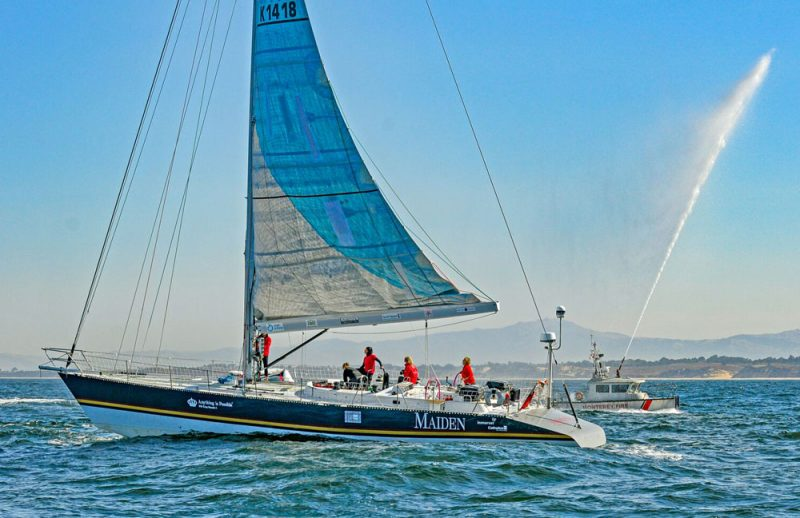 Arrival in Monterey Bay