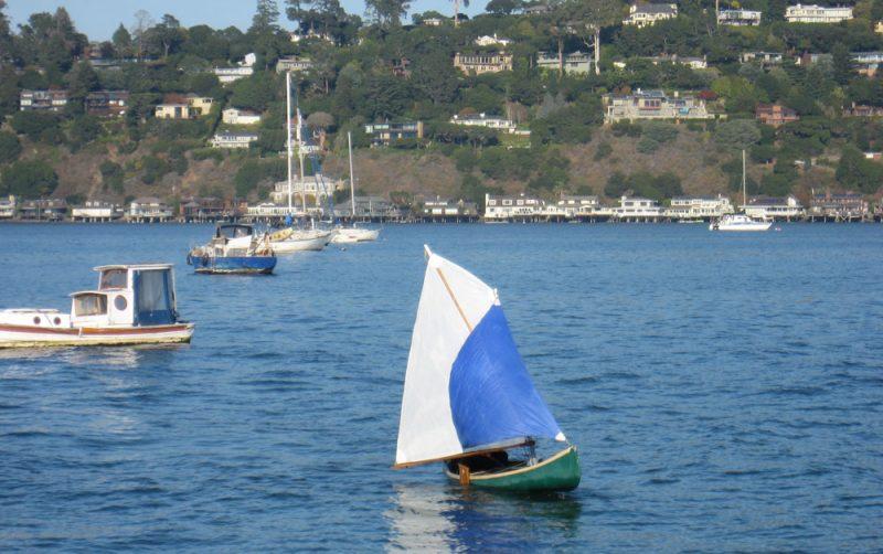 Dinghy sailing in Richardson Bay