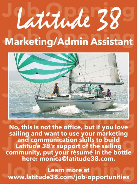 Latitude 38 Marketing/Admin Assistant ad