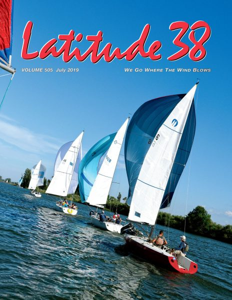 Latitude 38 July Cover